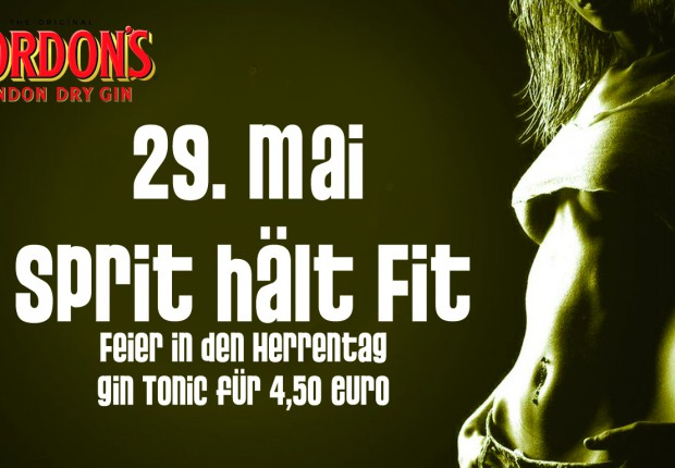 Sprit hält fit! - Gin Tonic 4,50€
