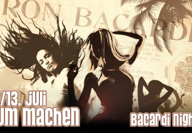 RUM MACHEN - Bacradi Nights
