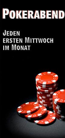 Jeden ersten Mittwoch Pokernight