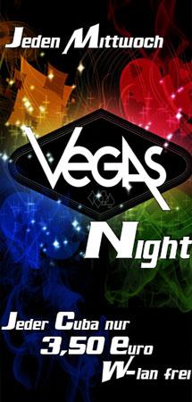 Mittwochs ist Vegas Night